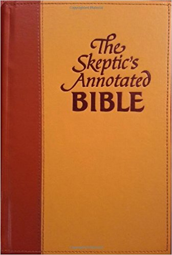 Book Cover: The Skeptics Annotated Bible